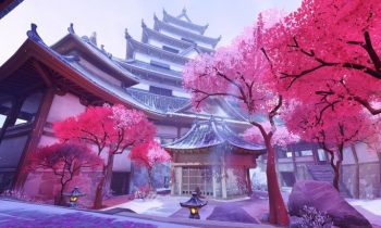 Hanamura Overwatch Map Cherry Blossom Wallpaper…
