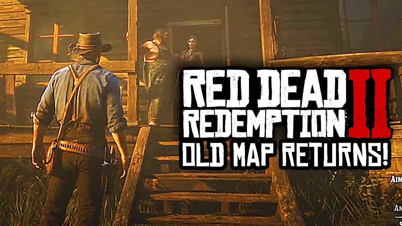 Red Dead Redemption 2 Old Map Returning To The Game New Austin More Gamesectors Com