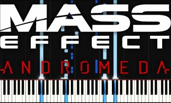 Mass Effect: Andromeda – Heleus (Galaxy Map)   Synthesia Piano