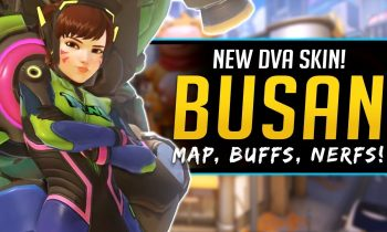 Overwatch NEW MAP BUSAN, DVA SKIN, Buffs & Nerfs and MORE!