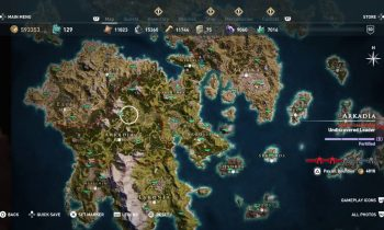 Assassin's Creed Odyssey – Full World Map ALL LOCATIONS 100% (Biggest Open World Game)