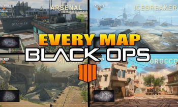 Every Map In Call of Duty Black Ops 4 (COD BO4 All Maps)