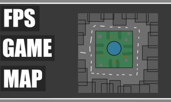 FPS Game Map Creation Plan – How To Make A Game Map/ Level – Part 16