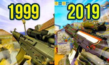 Evolution of the SG 553 in Counter Strike on Inferno Map 1999 – 2019