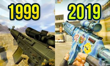 Evolution of the SG 553 in Counter Strike on Dust Map 1999 – 2019